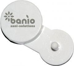 banio Air Curve Lufterfrischer - Spiced Apple (karminrot) - für banio AirCurve Holder