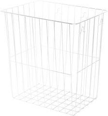banio Abfallkorb für Waschräume - 320 x 355 x 220 mm - banio BASIC S-Line