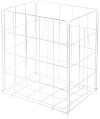 banio Abfallkorb für Waschräume - 410 x 630 x 255 mm - klappbar - banio BASIC S-Line