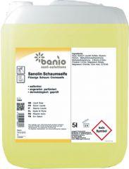 banio BANIOLIN Schaumseife 5 l - für Schaumseifen-Nachfüllspender