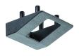 Gleitkappe zu Tischrolle, für Rundrohr 40 mm