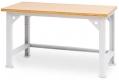 Schwerlasttisch,  Geschweißt und geschraubt mit Knotenblechen zur Versteifung