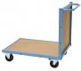 Transportwagen mit Holzboden und Rückwand