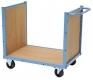 Transportwagen mit Holzboden, Vorder- und Rückwand