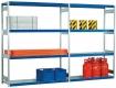 Stahlpaneel, Zusatzebene für Weitspannregal