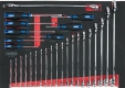 Werkzeugeinsatz, CHROMEplus® Ringmaulschlüssel- und    Schraubendreher-Satz, 29-tlg.