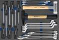Werkzeugeinsatz, Kfz-Satz 19-teilig