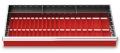 Muldenplatten 47-teilig für R 36-16 für Schubladennutzmaß innen 900 x 400 mm und Blendenhöhe 100 mm