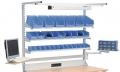 Multi-Wand-Aufbau Obergestell mit Geräteschiene und Beleuchtung