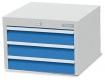 Unterhängeschrank R 12-16, 3x Schublade