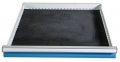 Schubladeneinlage R 24-24 mit Riffelgummi für Front 50-200 mm ölfest, für Schubladennutzmaß innen 600 x 600 mm