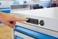 E-Schloss  für Schubladenschrank oder Werkbank